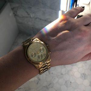 Michael Kors Accessories - Gold Michael Kors Watch